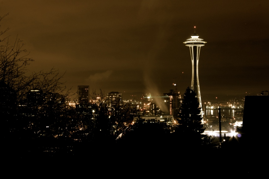 Bhy Kracke Park - Space Needle 2